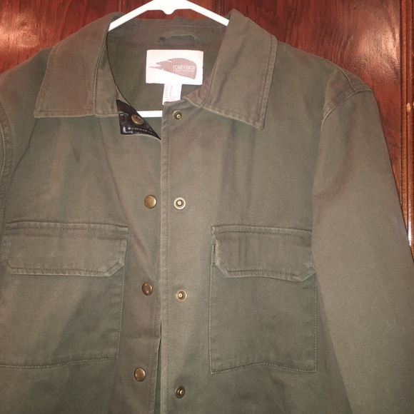 Forever 21 Jackets & Blazers - Army Green Jacket